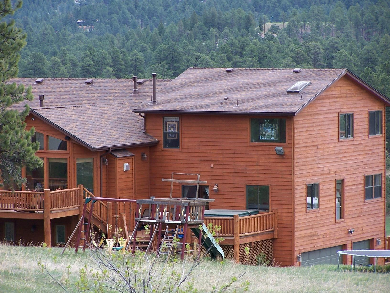 Wood Home Gets a New Roof in Evergreen, CO
