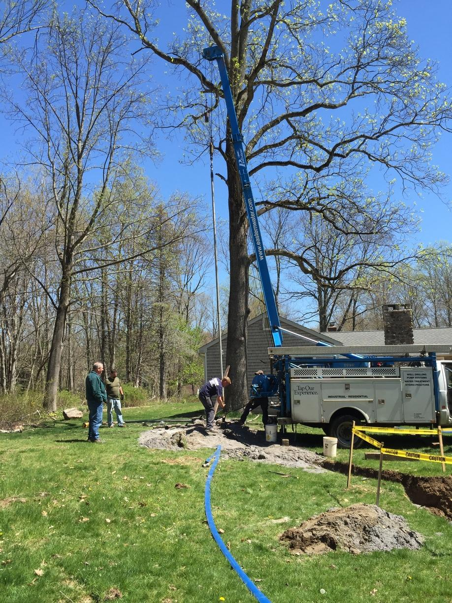 Hydraulic Fracturing for a Well in Easton, CT
