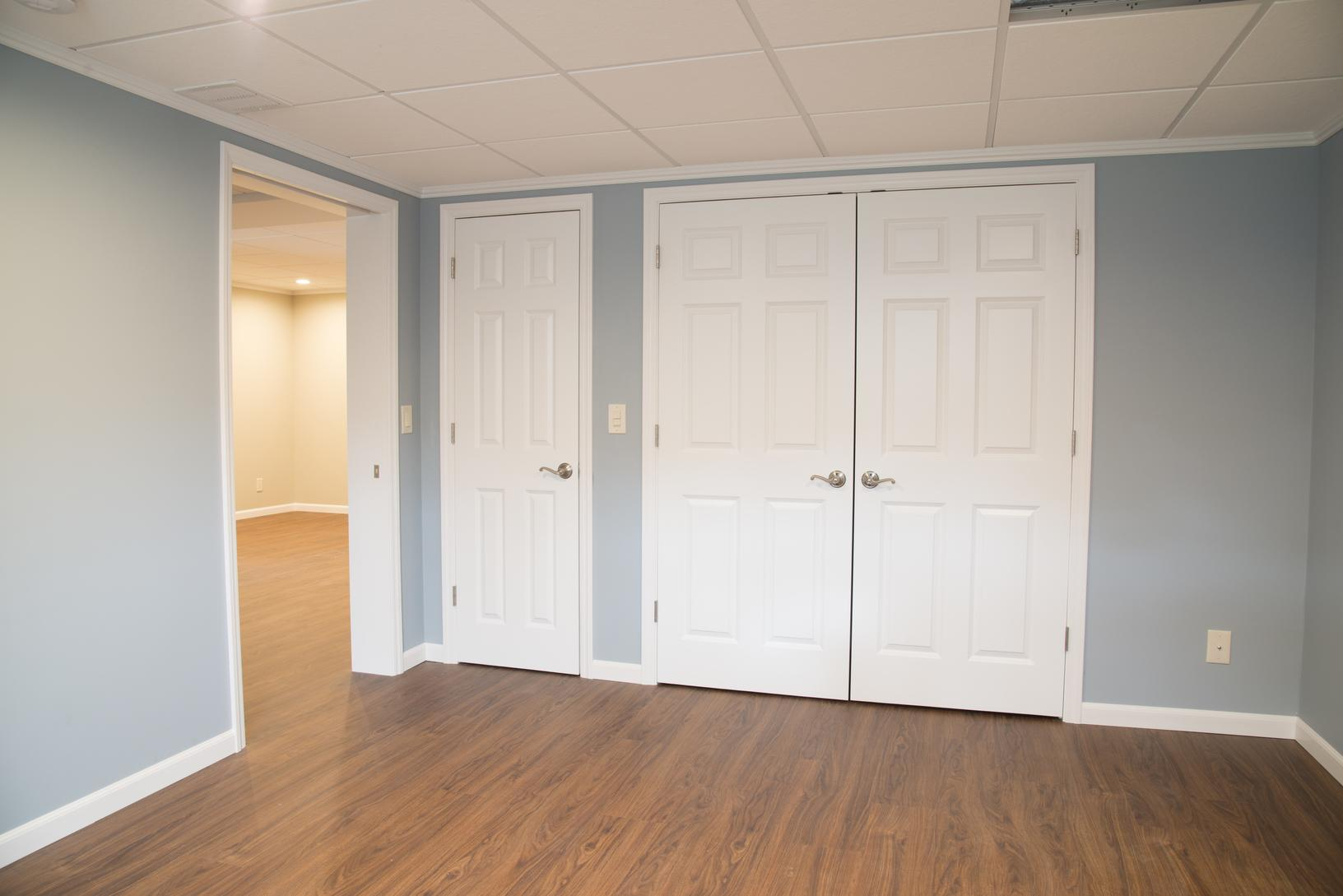Bedroom in Newly Finished Basement