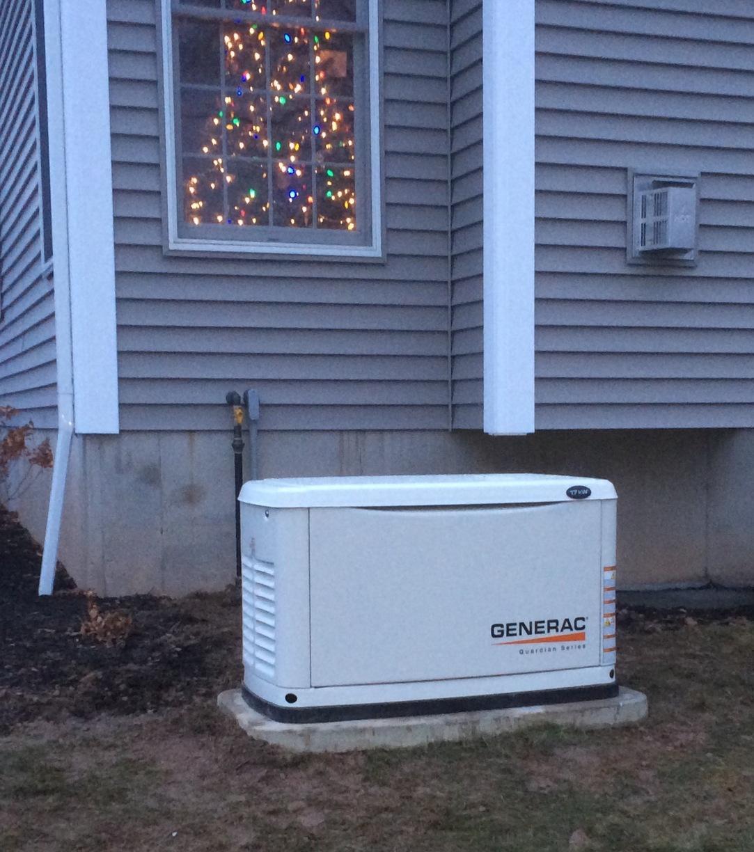 Generator installation in Victor, NY