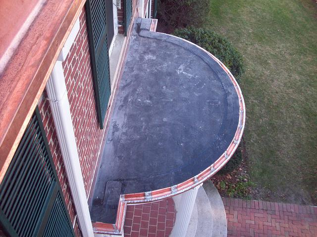 Flat Roof on Entry Way