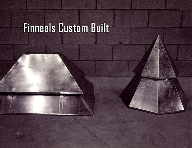 Custom Built Metal Finneals