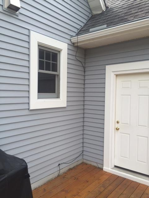Siding Installation Finished Project