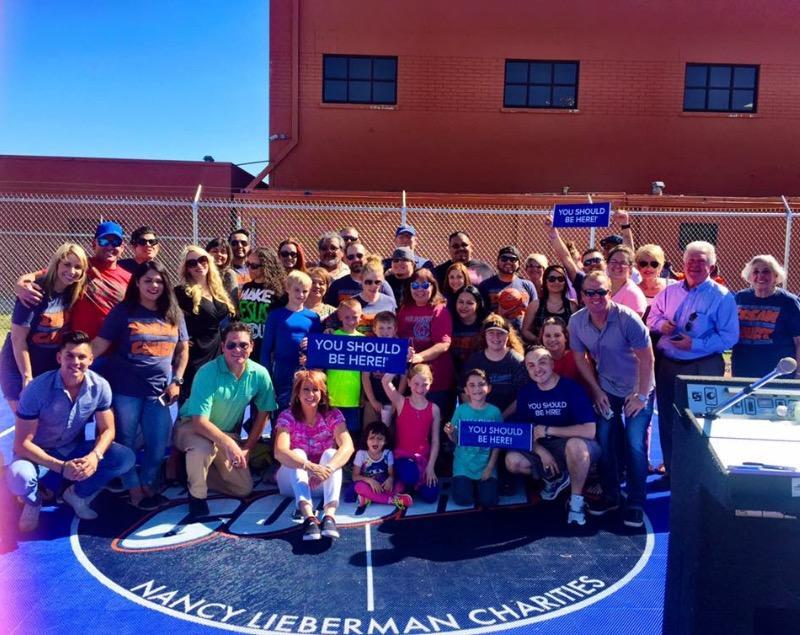 Boys & Girls Club Dreamcourt Dedication Amarillo, TX