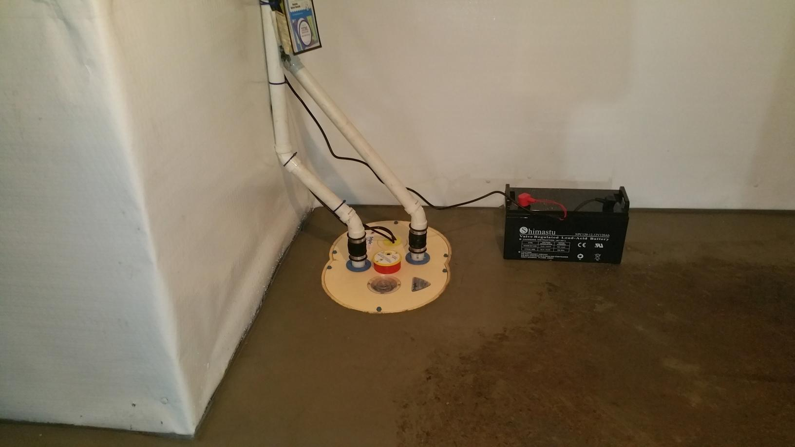 Basement waterproofing in Guilford, CT