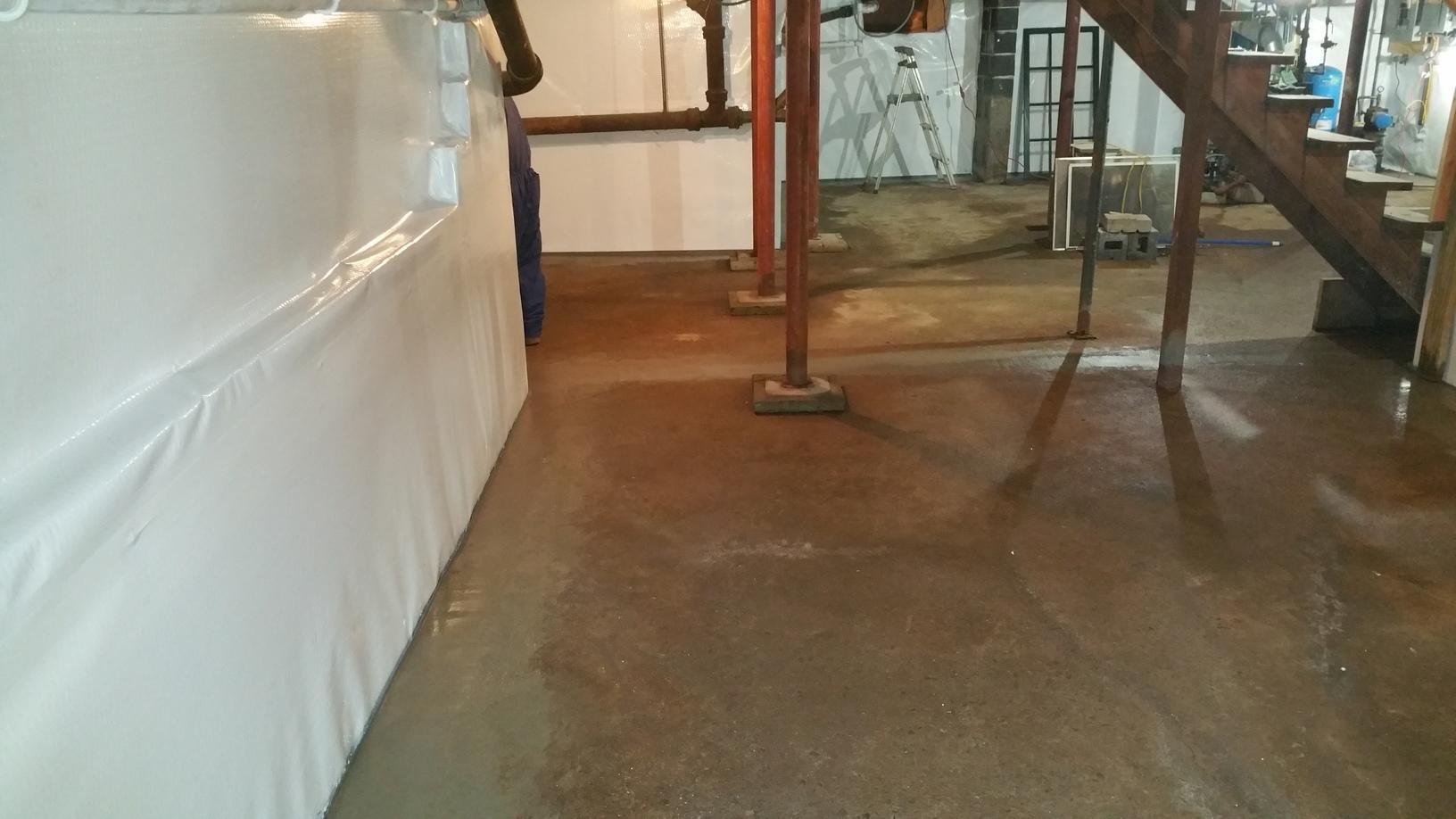 Basement Waterproofing in CT