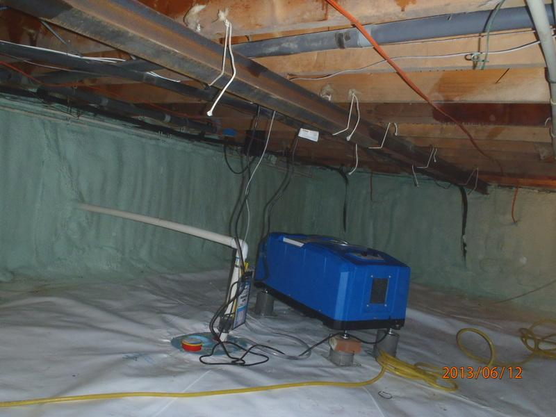 Crawl Space Insulation in Delmarva