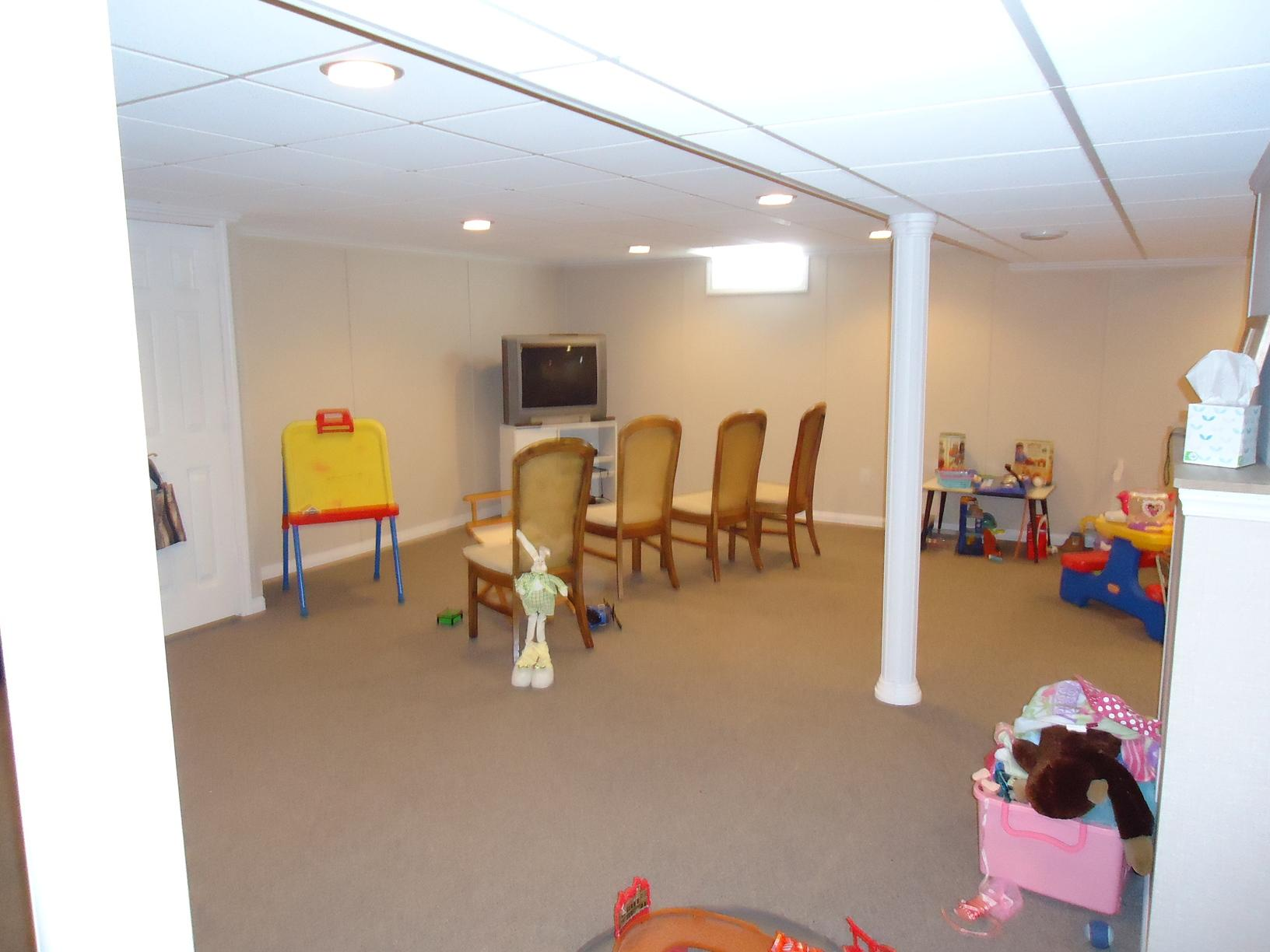 A Beautiful Basement and Kid's Play Room in New Berlin, WI!