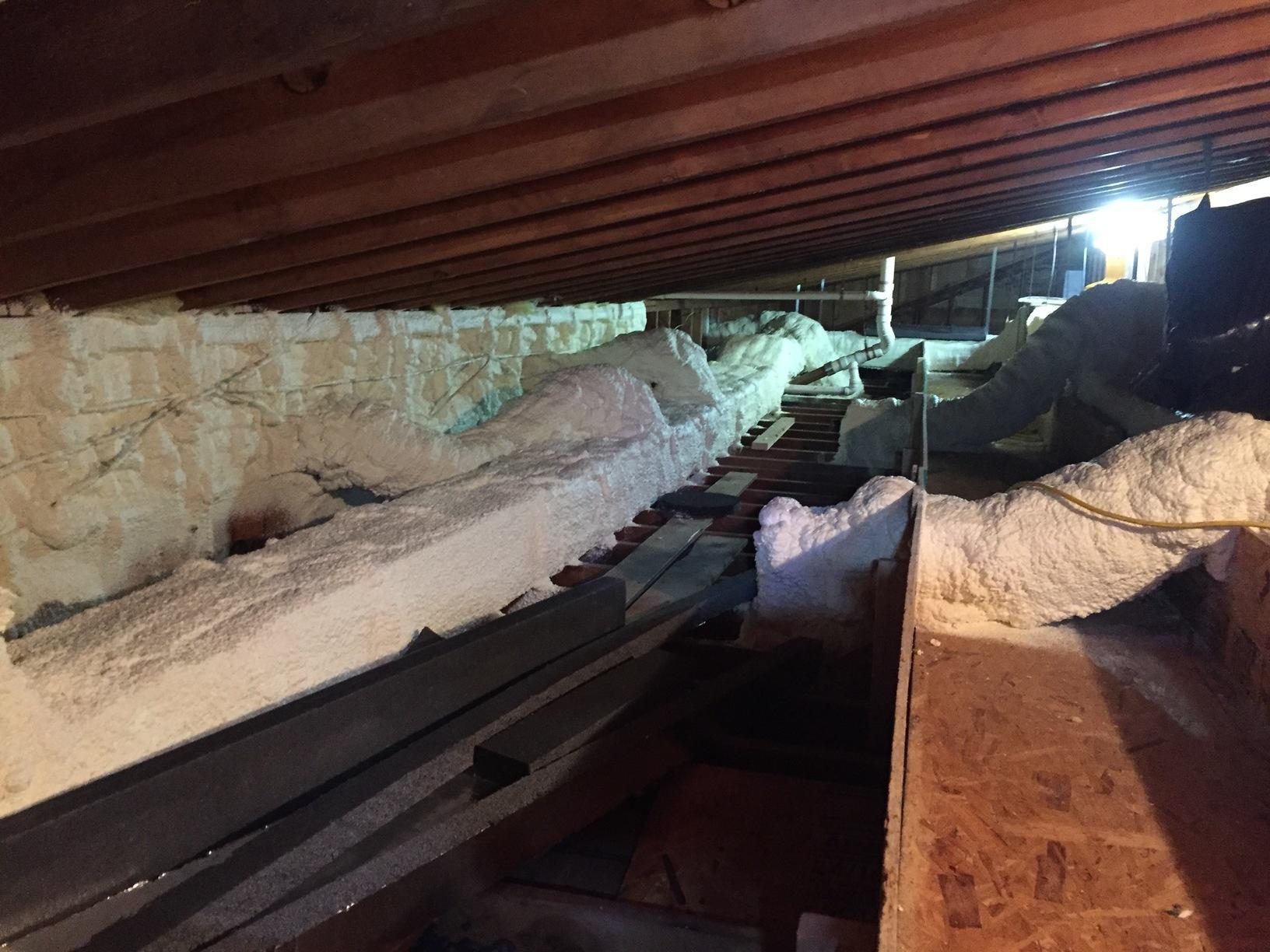 Spray Foam insulation in Trumbull, CT