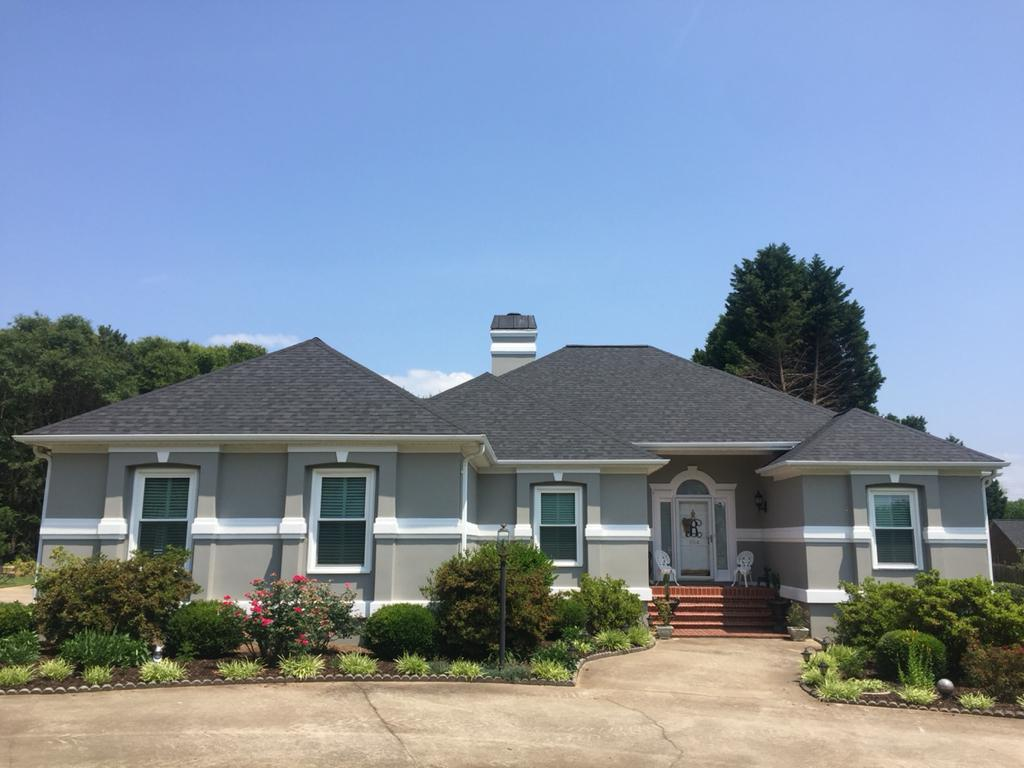 A Roof We Replaced in Anderson