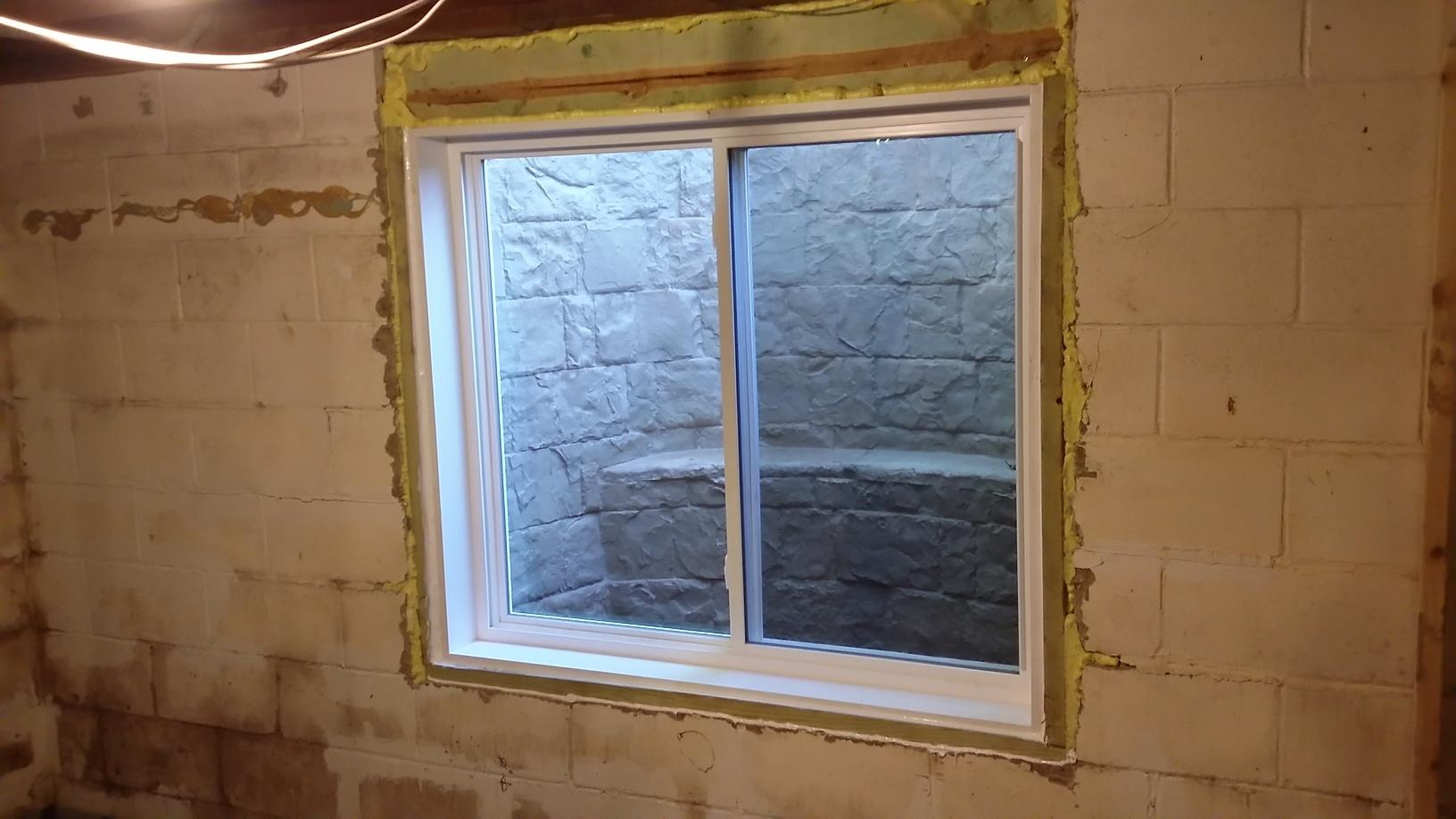 Rockwell Window System Installed