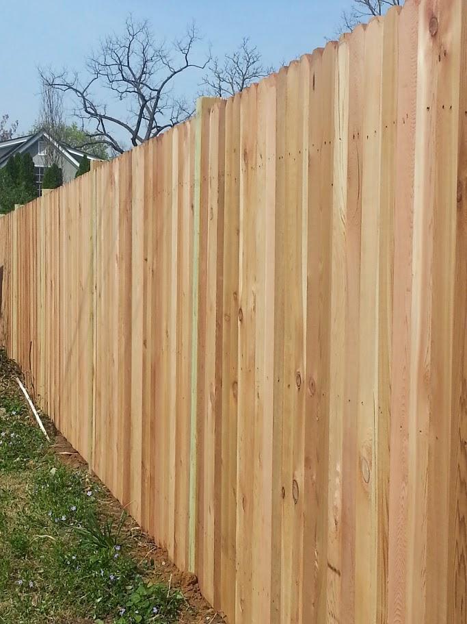 Mc Fence And Deck Privacy Cedar Fence Centerville Va