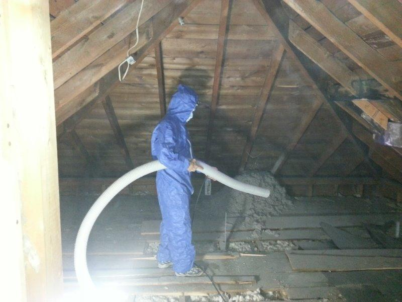 Insulating in the heat