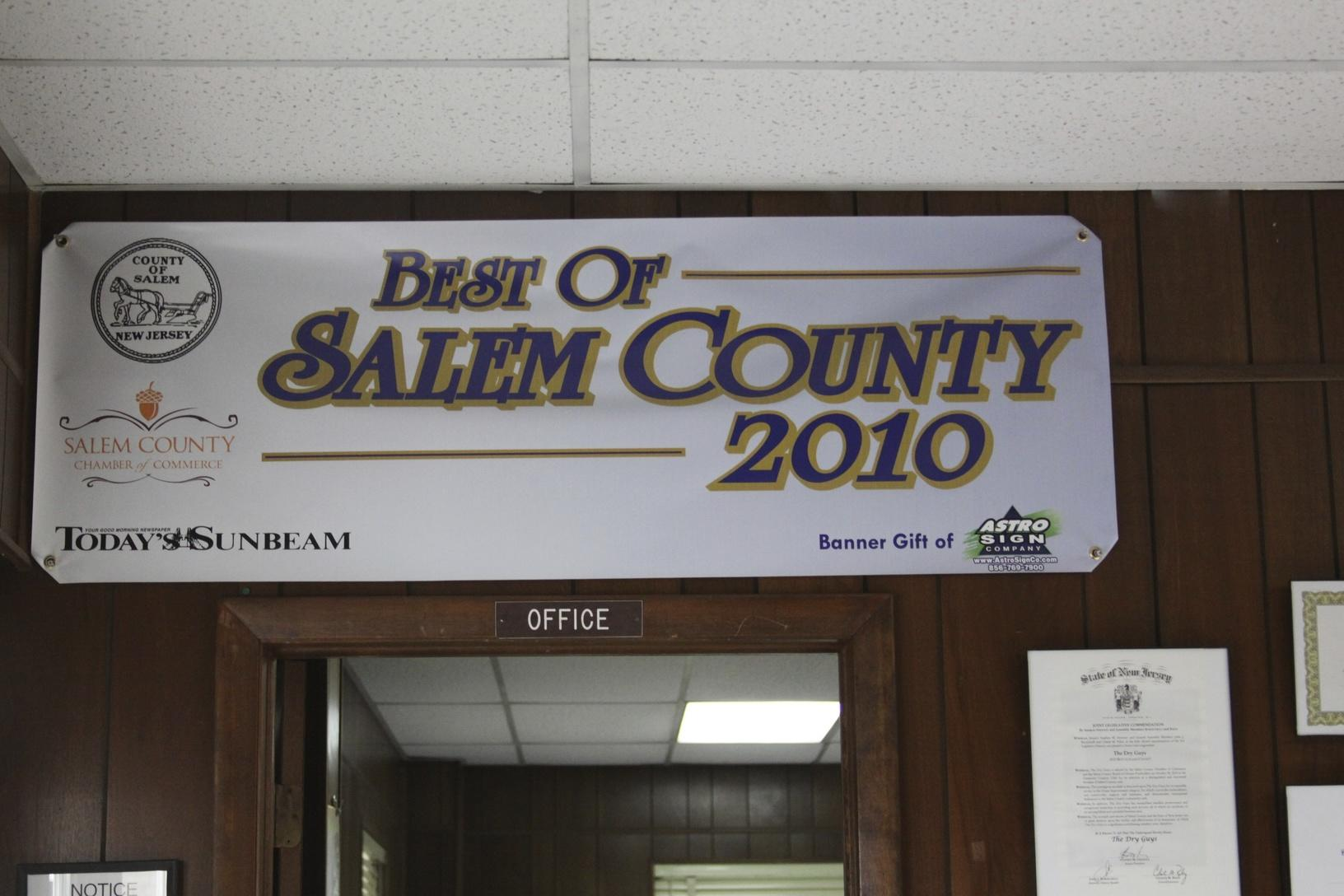 Best in Salem County 2010
