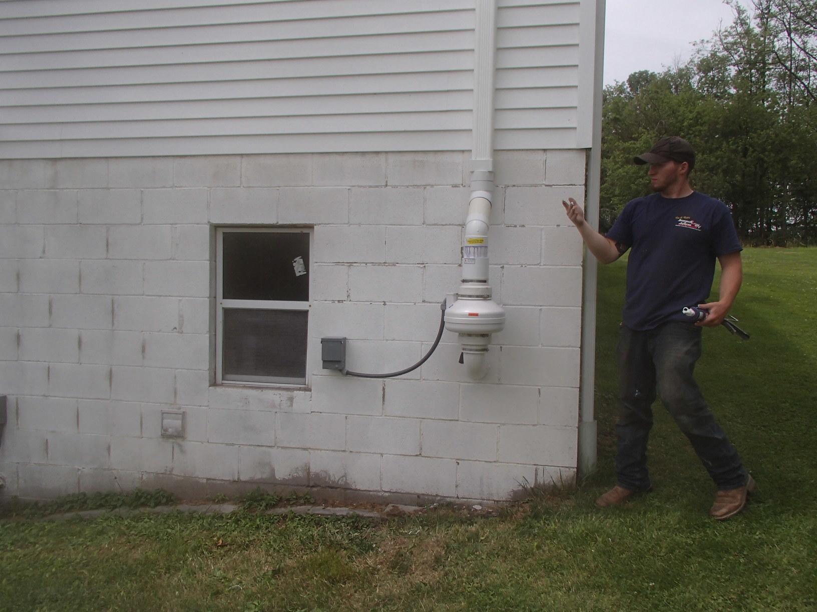Radon Mitigation Radon Mitigation For A Thomas Wv Home