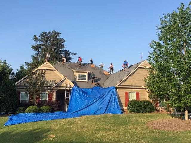 Roof - Tear off/Removal