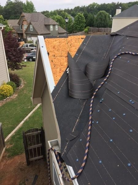 Installation of  Drip Edge