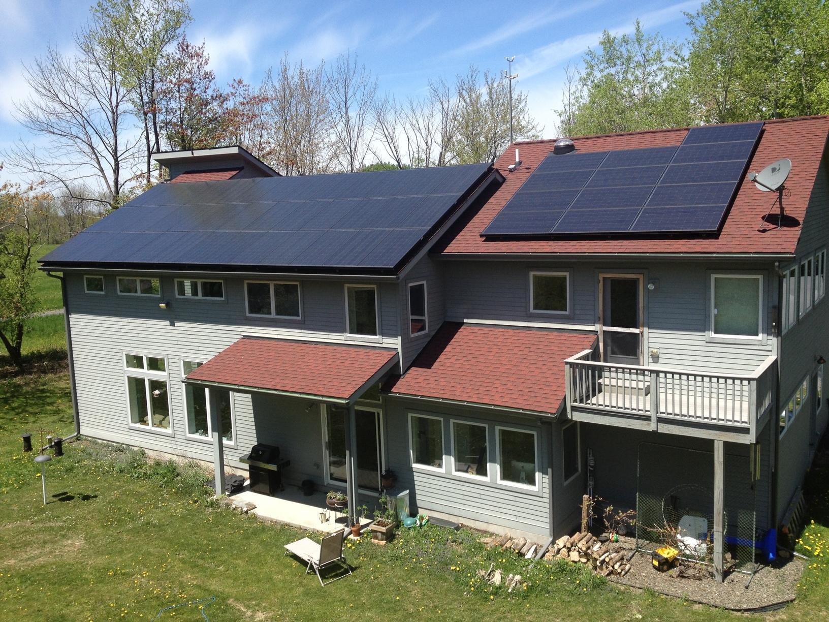 Solar Panel Installation in Ithaca, NY