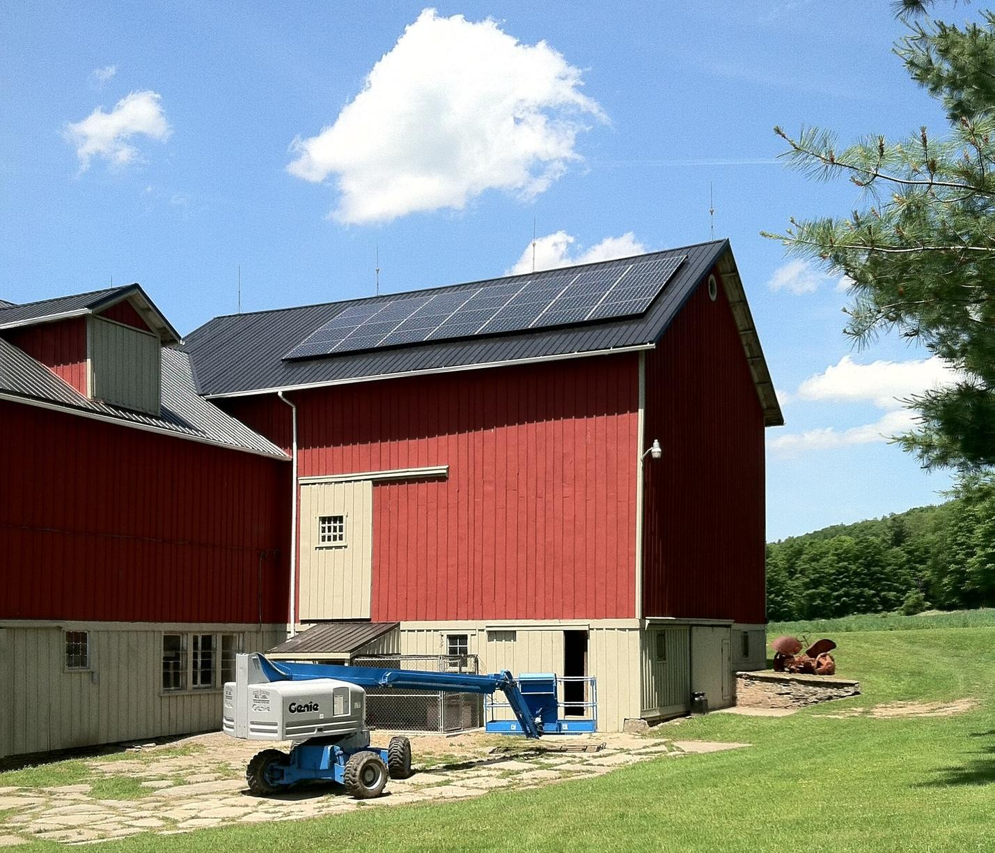 Solar Panel Installation in Prattsburgh, NY