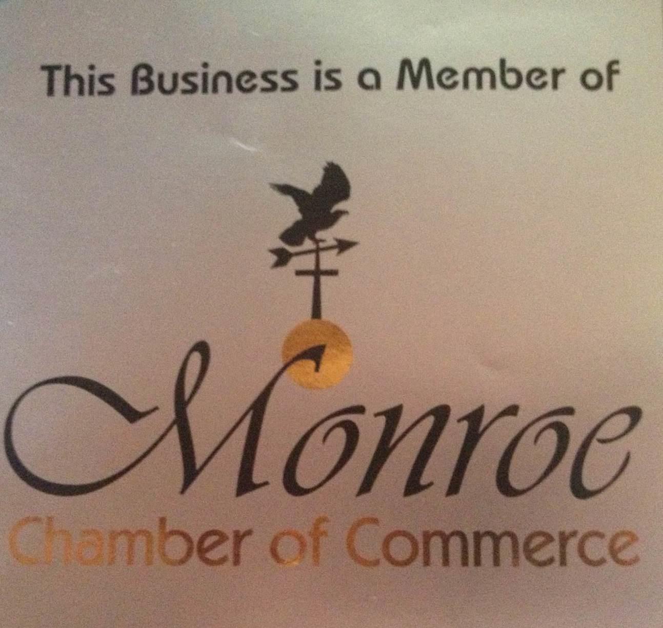 New Member of Monroe Chamber of Commerce!