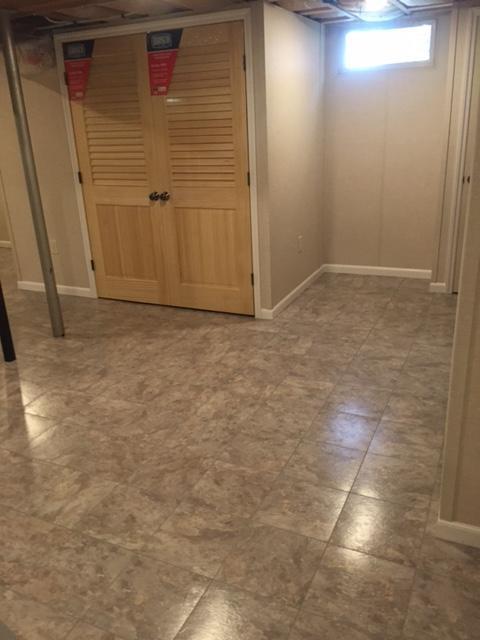 ThermalDry Basement Flooring