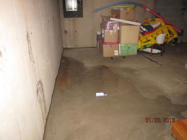 Water Seepage in Cheshire Basement
