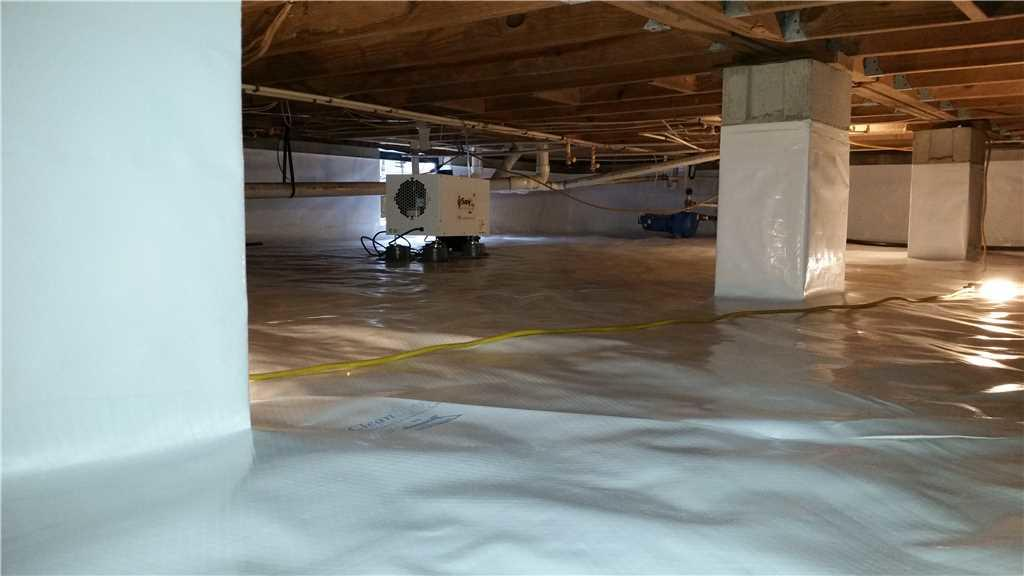 Finished Crawl Space in Betterton, MD