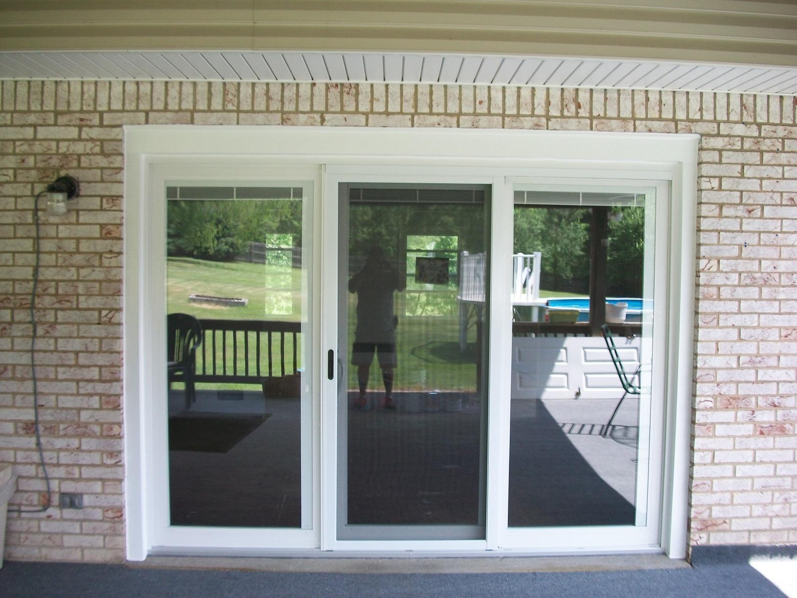 Energy Swing Windows - Replacement Doors - Three panel ...