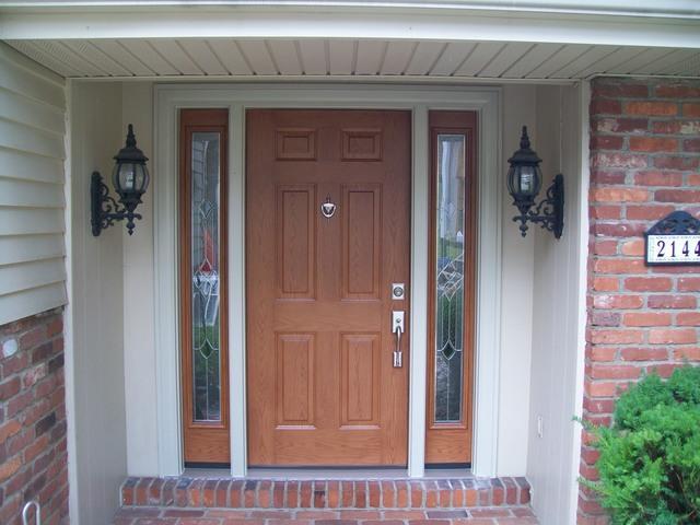 Energy Swing Windows Replacement Doors Photo Al Crisp And Clean Entry Door With Sidelights Window Installation In Pittsburgh