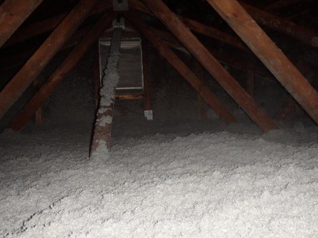 Complete Home Solutions Photo Album New Cellulose Attic Insulation In Davidsonville Md