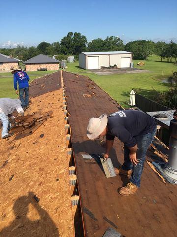 Ernie Smith Sons Roofing Roof Replacement Photo Album Mobile Home Roof Replacement Santa Fe Tx