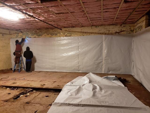 Mold prevention in basement