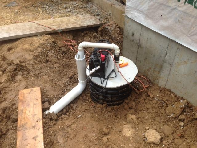 Woods Basement Systems Inc Basement Waterproofing Photo Album Outside Sump Pump In Olivette Mo