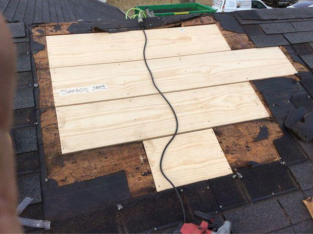Stan S Roofing Amp Siding Roof Repair Photo Album