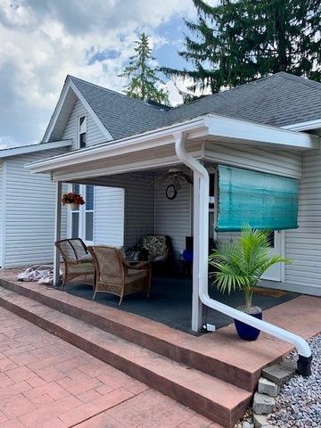 Larson Home Services Photo Album Leafguard Gutter System