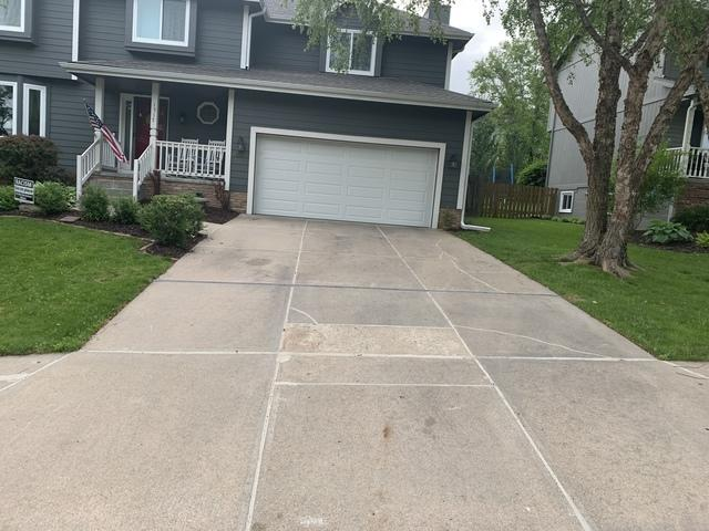 This is the driveway after our PolyLevel foam and NexusPro joint sealer were applied.