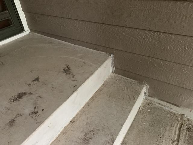 Just like the concrete sidewalk, the steps will no longer be a trip hazard and have no settlement happening again.