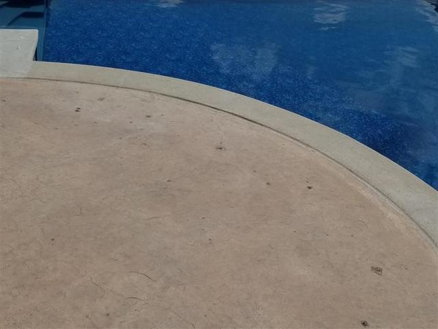 Now when people got out of the pool there was no longer a concern about tripping.