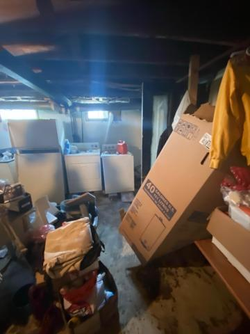 This basement is about to get a makeover!