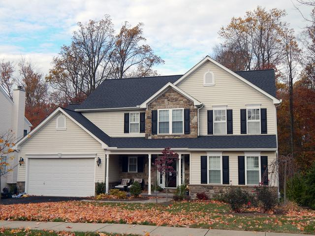 Certitude Home Improvements Roofing Services Photo Album Landmark Moire Black Shingle Roof Replacement In Garnet Valley Pa