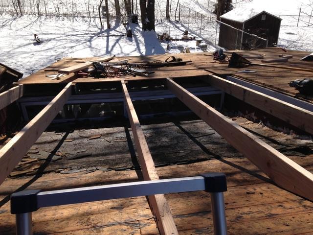 Klaus Larsen Llc Photo Album Winter Roof Replacement In