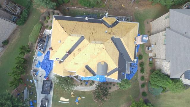 Housworth Construction Roof Replacement Photo Album Roof Replacement In Suwanee Ga