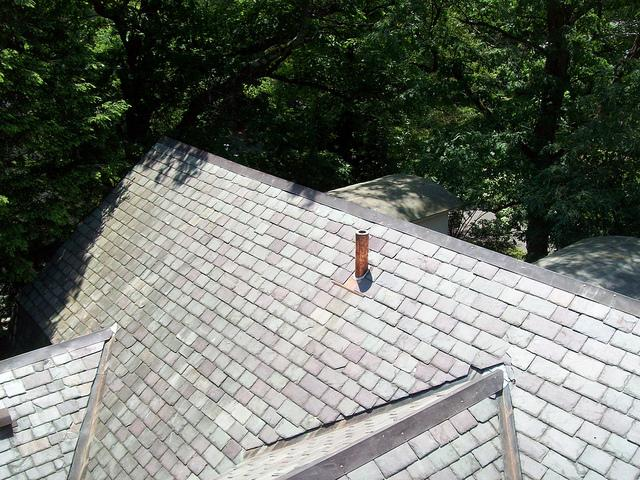 Slate roofing in Newton, MA