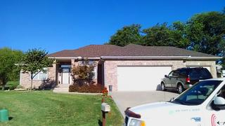 We installed a new roofing system for this home!