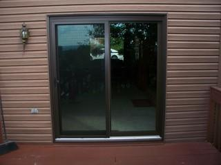 Like most of the homes located in Irwin, PA, this client had a french patio door on their home. They asked us, Energy Swing Windows, to convert their door into a beautiful sliding glass door. Not only did we install a gorgeous brown sliding glass door, but we cut their spending on energy bills as well!