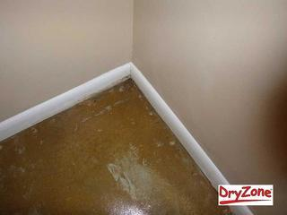 The problem with carpet in a basement is that it is ruined when the floor gets wet. Who wants to go through the hassle of having to rip up the carpet and then re-install new carpet? Luckily, these Harbeson homeowners saw the benefit in getting a waterproofing system to keep the basement dry for good.