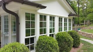 This Montclair enclosed patio got new windows replaced to make it more functional and energy efficient than the old and drafty window panes. These new windows will let light in but won't allow heated or cool air to escape so these homeowners can expect immediate saving on their energy bills
