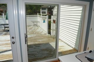 We installed this Marvin door in a Morristown, NJ home. The result is a modern and clean look that is also energy efficient!