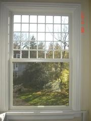 Marvin window with custom grids installed in Berkeley Heights, NJ. Some people like the grids and some people do not. Here at Global Home, we offer the Windowsin both styles so you can get the right option for your home that fits your style.