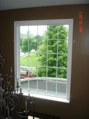 The interior of this home was improved with the addition of this large energy efficient window!